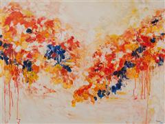 Abstract art,Impressionism art,Landscape art,Flora art,acrylic painting,Fragrance of Autumn