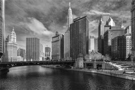 Architecture art,City art,Travel art,photography,Metropolis Chicago