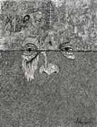 Abstract art,People art,Surrealism art,ink artwork,The Suicide Kid