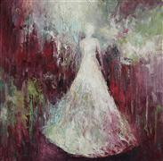 Abstract art,People art,oil painting,Who Are These Angels LV