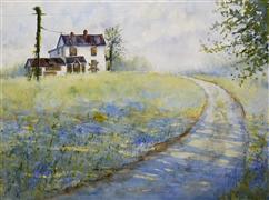 Architecture art,Impressionism art,Landscape art,watercolor painting,Condemned