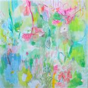 Abstract art,Flora art,Non-representational art,acrylic painting,Its All for You