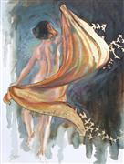 Fantasy art,Nudes art,People art,oil painting,Taking Wing