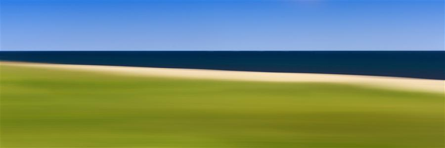 Original art for sale at UGallery.com | Nantucket Stripes by Katherine Gendreau | $300 | photography | 36' h x 12' w | ..\art\photography-Nantucket-Stripes