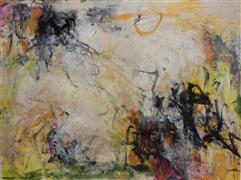 Abstract art,Non-representational art,mixed media artwork,The Color of Your Voice