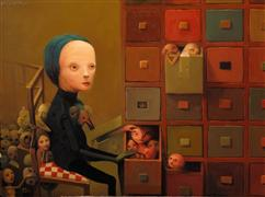 People art,Surrealism art,Representational art,oil painting,Review