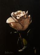 Flora art,Classical art,Representational art,oil painting,White Rose