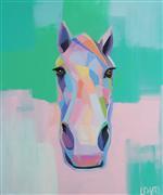 Animals art,Pop art,acrylic painting,Saratoga
