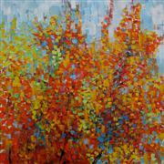 Impressionism art,Nature art,Representational art,acrylic painting,Fall I