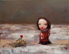 People art,Surrealism art,Representational art,acrylic painting,Mystery
