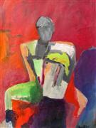 Expressionism art,People art,Representational art,mixed media artwork,Figure I
