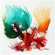 Abstract art,Non-representational art,ink artwork,Movement of I #8