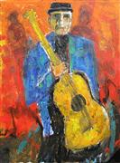 Expressionism art,People art,Representational art,acrylic painting,Solo Break