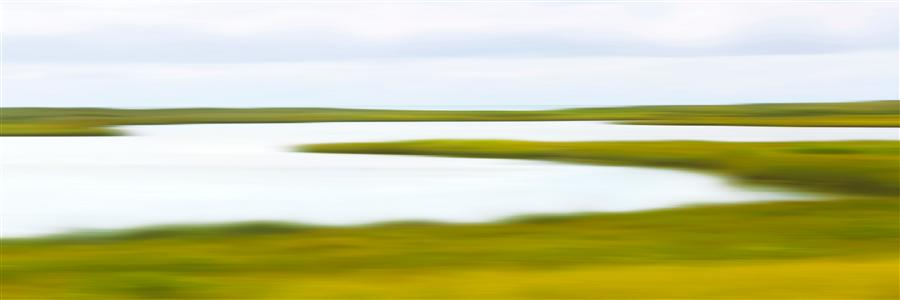 Original art for sale at UGallery.com | Coatue Marsh by Katherine Gendreau | $300 | photography | 36' h x 12' w | ..\art\photography-Coatue-Marsh