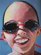 People art,Pop art,Realism art,Representational art,oil painting,Goggles