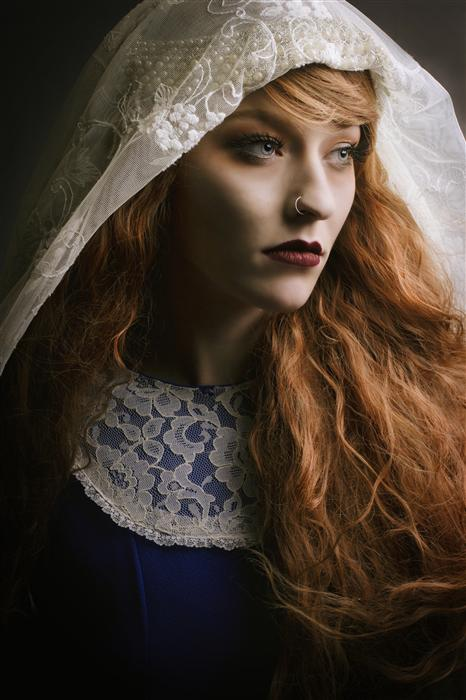 Original art for sale at UGallery.com | Renaissance Woman by Sarah Clements | $425 | photography | 36' h x 24' w | ..\art\photography-Renaissance-Woman