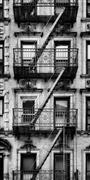 Architecture art,Representational art,photography,Fire Escape in SoHo