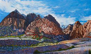 Landscape art,Nature art,Western art,Representational art,oil painting,After the Storm