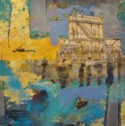 Pop art,Representational art,Vintage art,mixed media artwork,Dive Mania