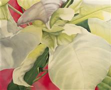 Flora art,Representational art,oil painting,Winter