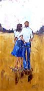 People art,Representational art,oil painting,Back Pocket