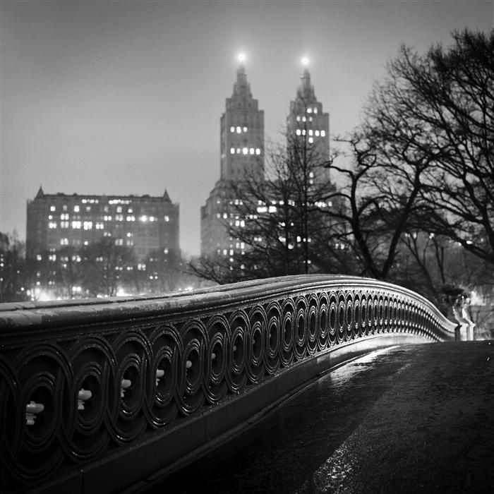 Original art for sale at UGallery.com | Bow Bridge, Central Park by Adam Garelick | $225 | photography | 20' h x 20' w | ..\art\photography-Bow-Bridge-Central-Park