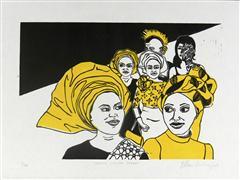 People art,Street Art art,Representational art,printmaking,South London Street