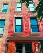 Architecture art,Realism art,Representational art,acrylic painting,Windows, New York III
