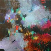 Abstract art,Expressionism art,Non-representational art,acrylic painting,Underworld Gems