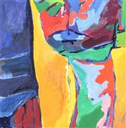 Abstract art,Expressionism art,Non-representational art,acrylic painting,Abstract Figure Studio XX