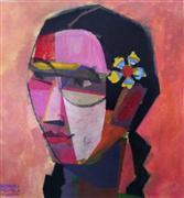 People art,Representational art,Modern  art,mixed media artwork,Mujeres Contemporeano 1