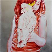 Animals art,People art,Pop art,Representational art,oil painting,Sunset Song