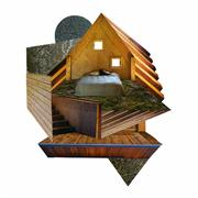 Architecture art,Representational art,Modern  art,photography,Sketches for a Small House (1)