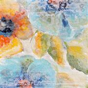Abstract art,Flora art,Non-representational art,acrylic painting,Spring Song