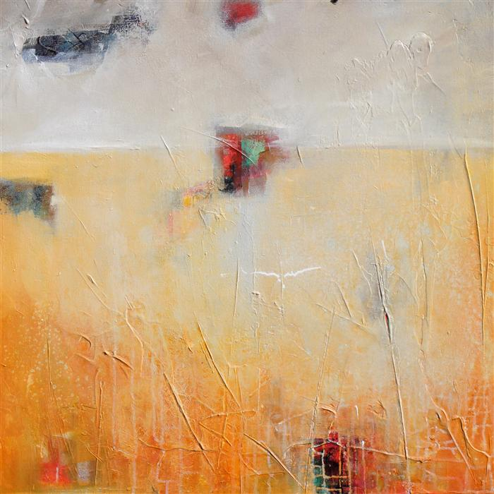 Original art for sale at UGallery.com | Unexpected 3 by KAREN HALE | $2,175 | Acrylic painting | 30' h x 30' w | ..\art\acrylic-painting-Unexpected-3
