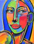 People art,Pop art,Representational art,oil painting,Bella Donna