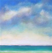 Impressionism art,Seascape art,Representational art,acrylic painting,Horizon