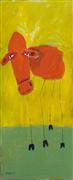 Expressionism art,Animals art,Representational art,acrylic painting,On the Farm