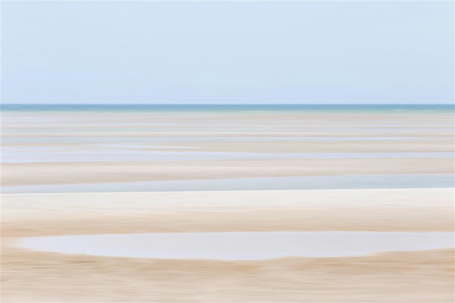 Original art for sale at UGallery.com | Tide Lines by Katherine Gendreau | $375 | photography | 36' h x 24' w | ..\art\photography-Tide-Lines