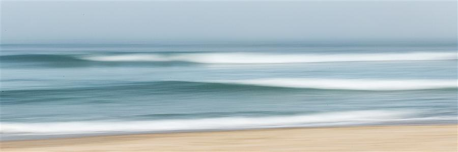 Original art for sale at UGallery.com | Fog Waves by Katherine Gendreau | $25 | photography | 36' h x 12' w | ..\art\photography-Fog-Waves