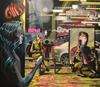 People art,Pop art,Fashion art,Street Art art,Representational art,oil painting,Artificial