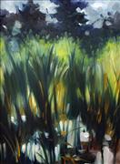 Impressionism art,Landscape art,Nature art,Representational art,oil painting,Reed Pond