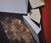 Abstract art,Non-representational art,Modern  art,acrylic painting,Abstract Landscape #26