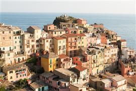 Architecture art,Seascape art,Representational art,photography,Golden Hour on Cinque Terre