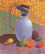 Pop art,Still Life art,Representational art,oil painting,Food Safety