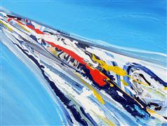 Abstract art,Non-representational art,acrylic painting,Abstract Flow