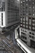 Architecture art,Travel art,Representational art,photography,Traversing the Chicago Loop