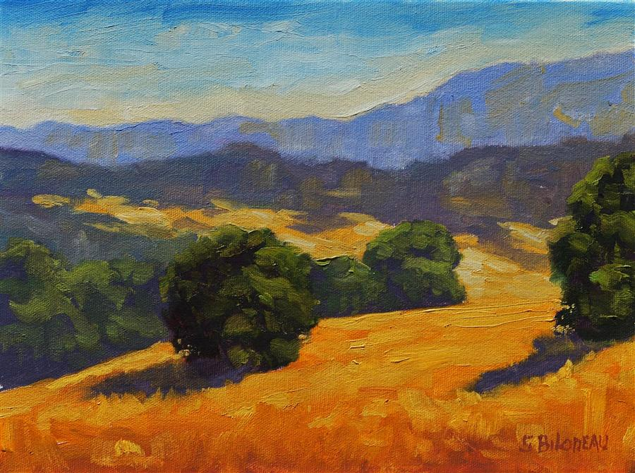 Original art for sale at UGallery.com | Sonoma Wonders by STEVEN GUY BILODEAU | $350 |  | 9' h x 12' w | ..\art\oil-painting-Sonoma-Wonders
