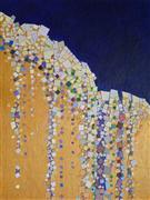 Abstract art,Non-representational art,Modern  art,mixed media artwork,Fruidity 03