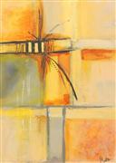 Abstract art,Non-representational art,acrylic painting,Distractions 1